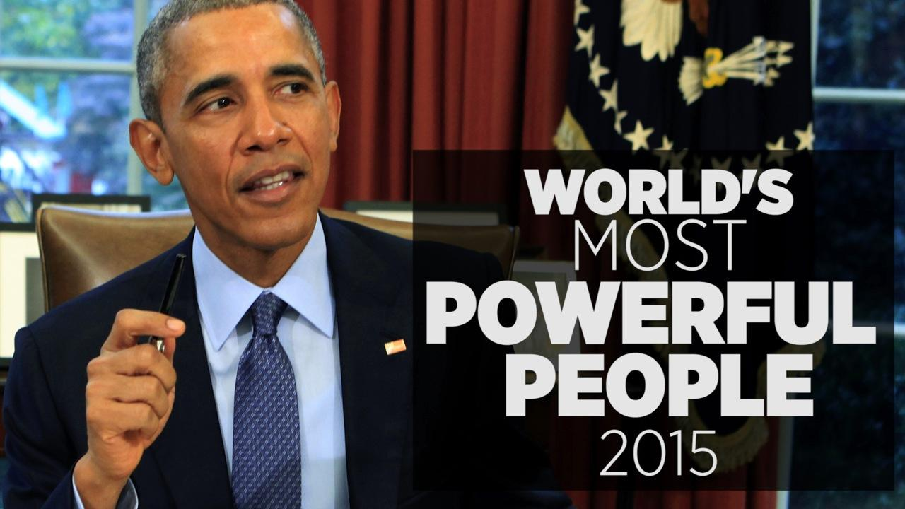 World's Most Powerful People Of 2015