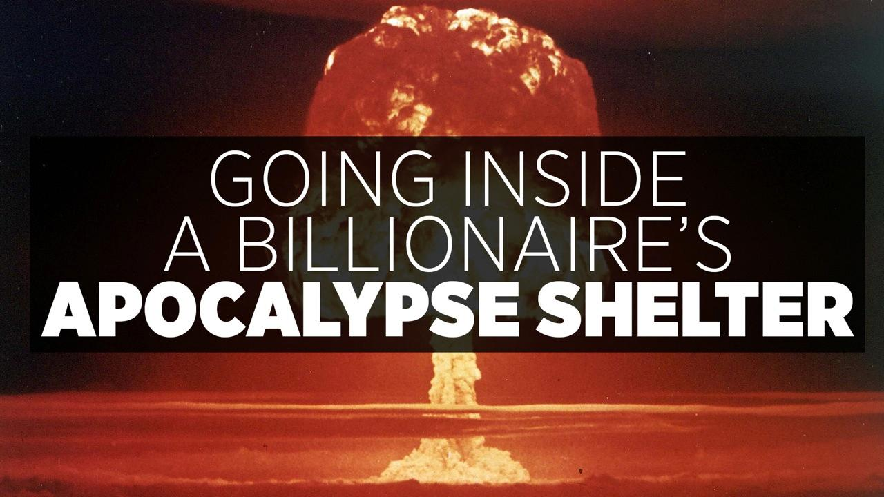 Going Inside A Billionaire's Apocalypse Shelter