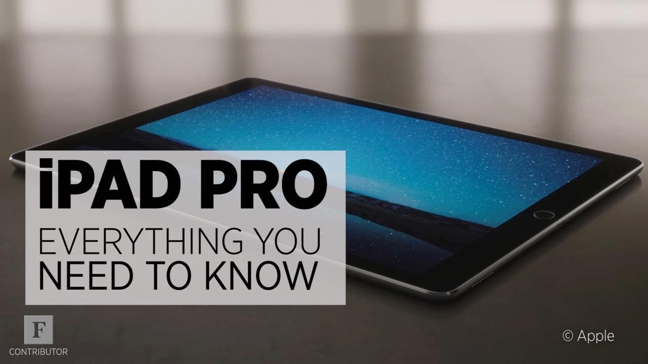 iPad Pro: Everything You Need To Know