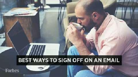Best Ways To Sign Off On An Email
