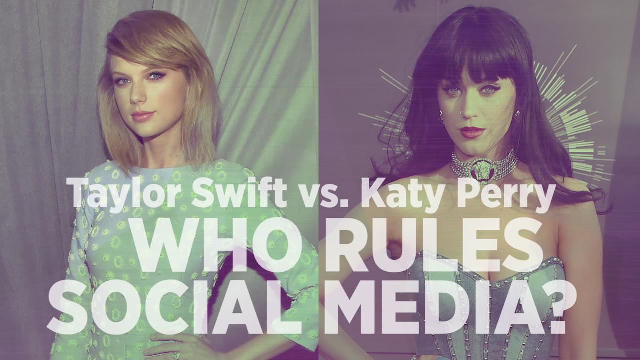 Taylor Swift Vs. Katy Perry: Who Rules On Social Media?