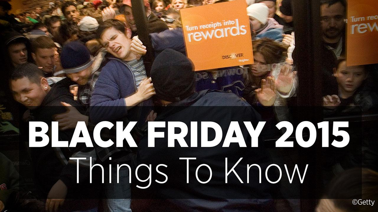 Black Friday 2015: Things To Know