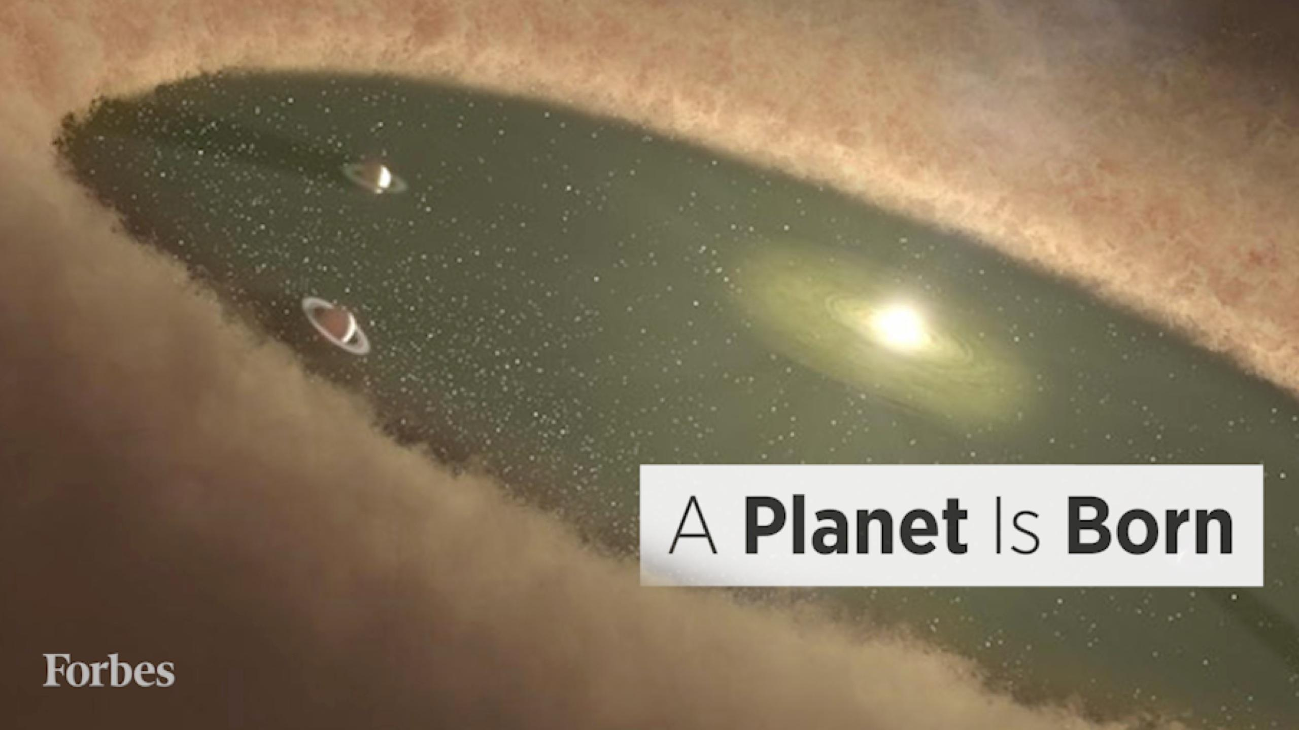 Scientists Captured Images Of A New Planet Being Born