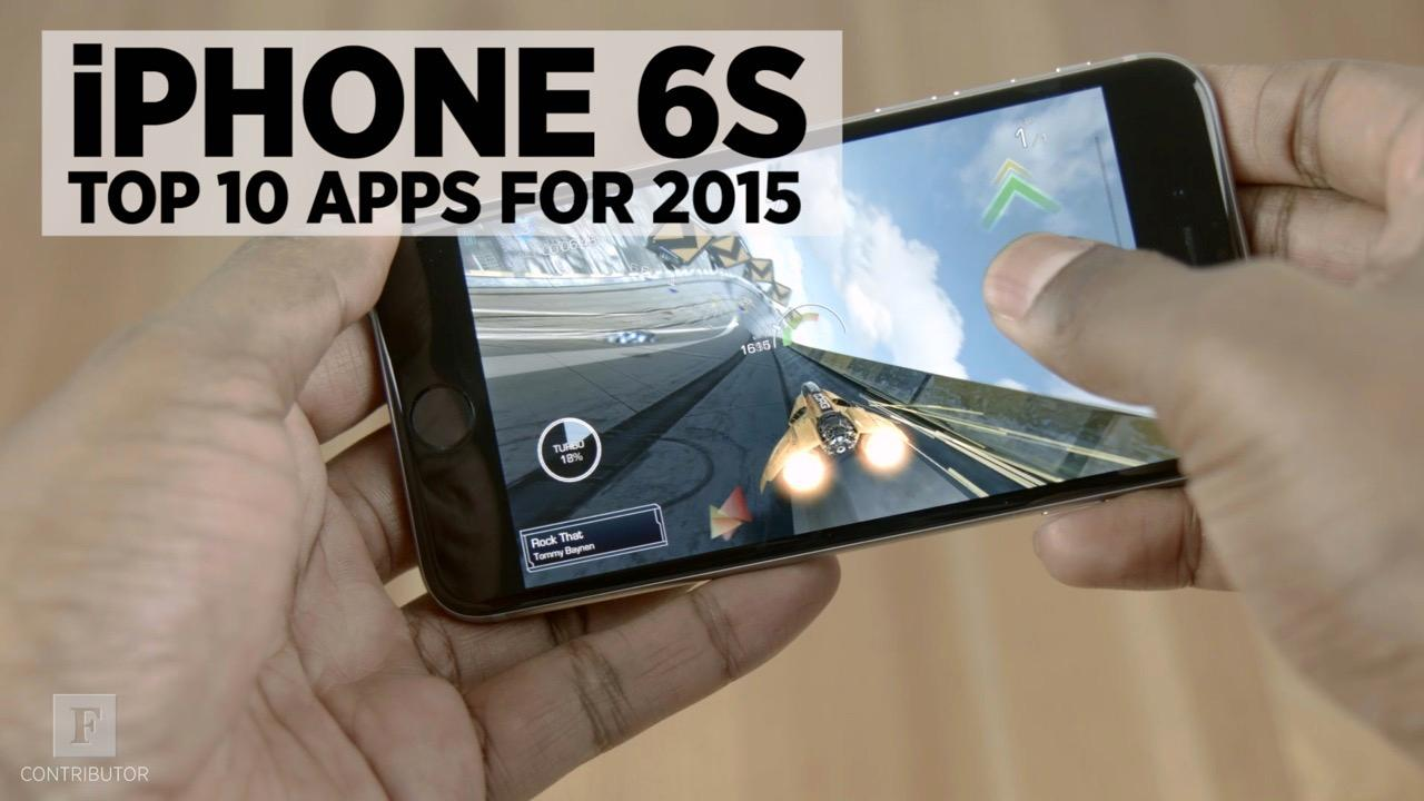 Top 10 iPhone 6S Apps For 2015