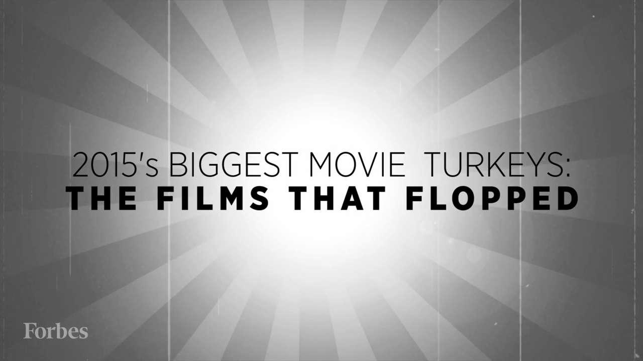 2015's Turkeys: Unprofitable Films That Flopped