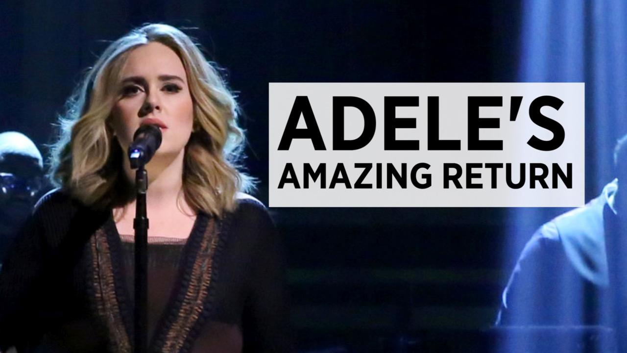 Adele's Record-Breaking Return