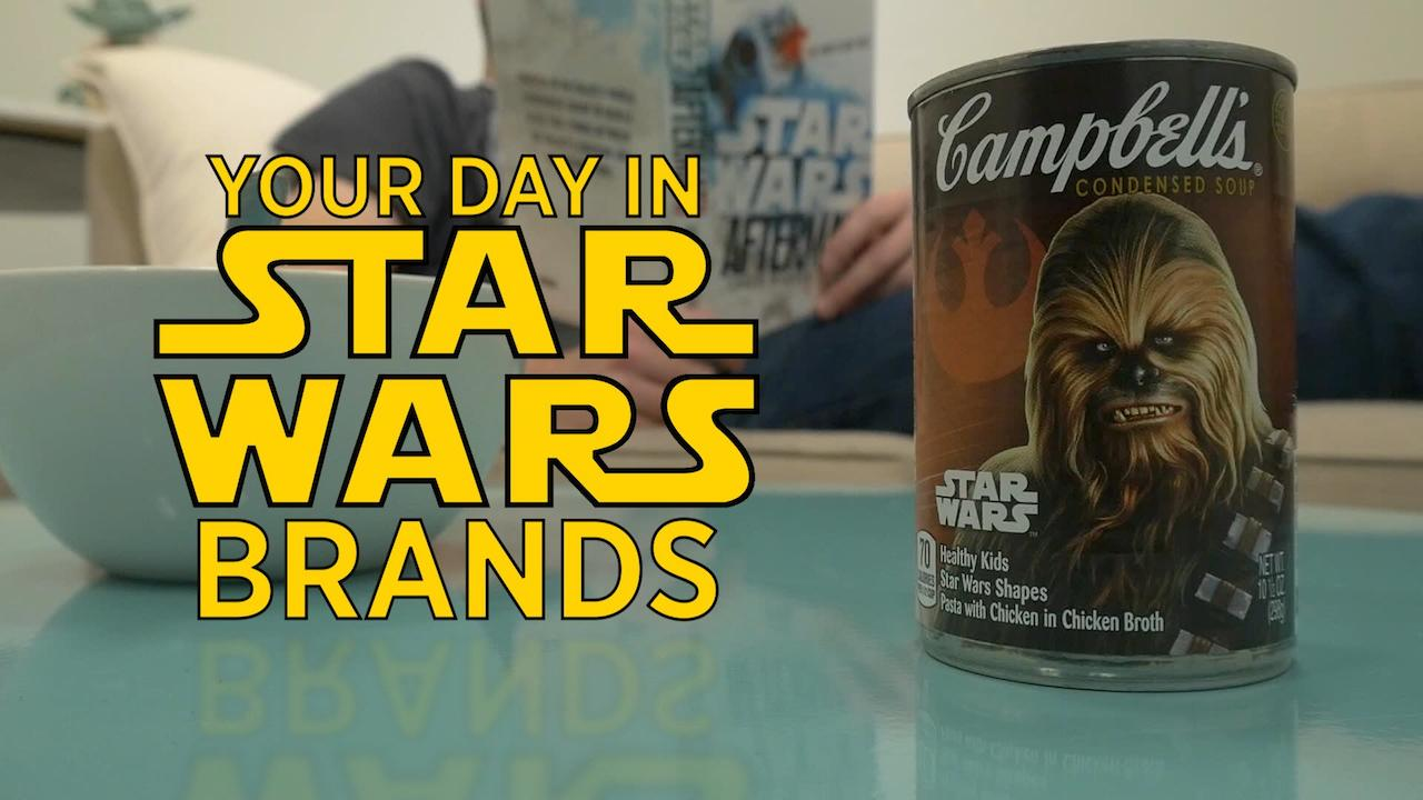 Your Day In Star Wars Brands