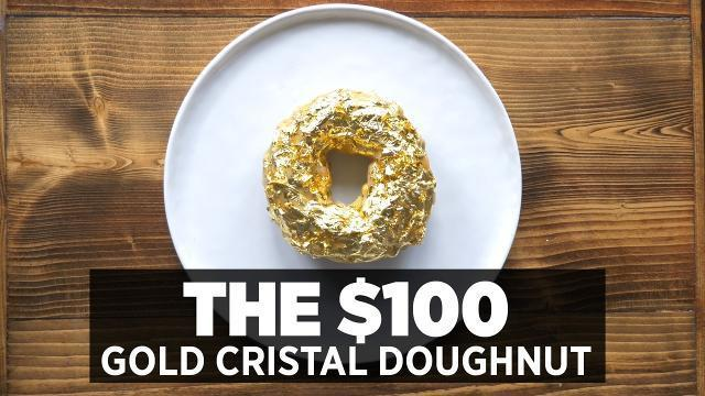 The $100, 24K Gold Cristal Doughnut