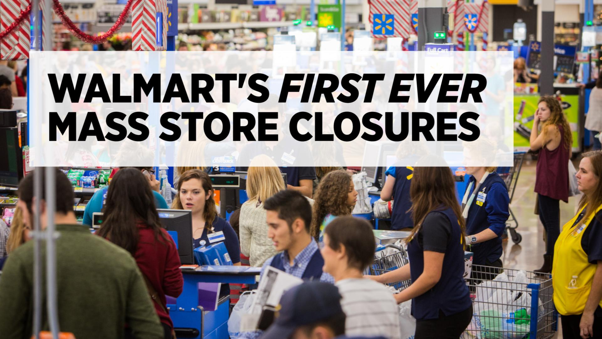 Walmart Shutters Hundreds Of Stores