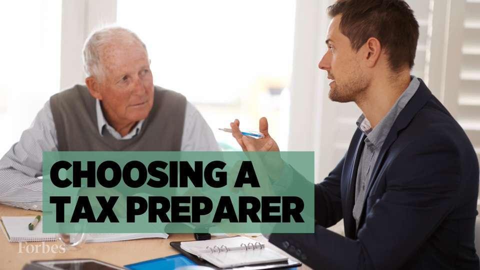 How To Choose A Tax Preparer