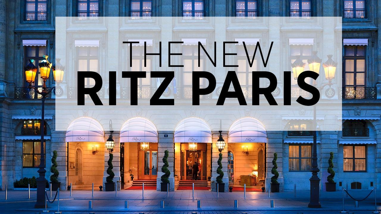 Ritz Paris Reborn