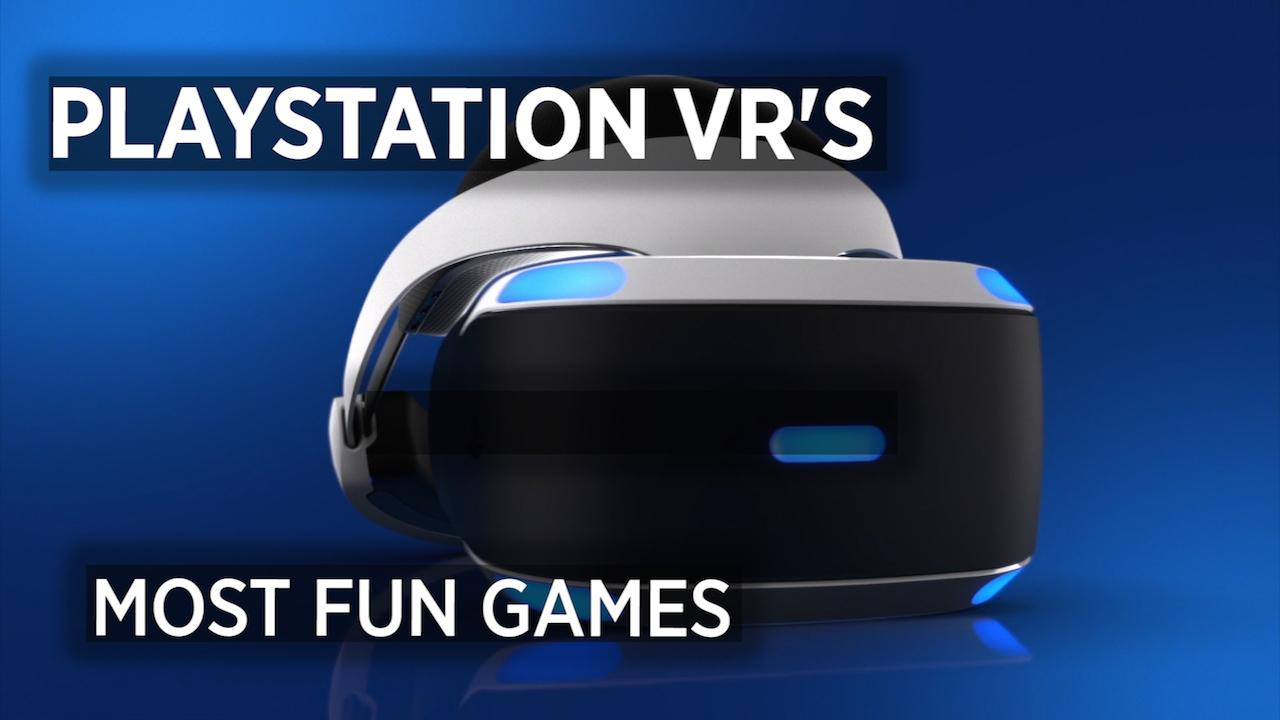 Fun Games For Ps3 : Most fun games for playstation vr minute news