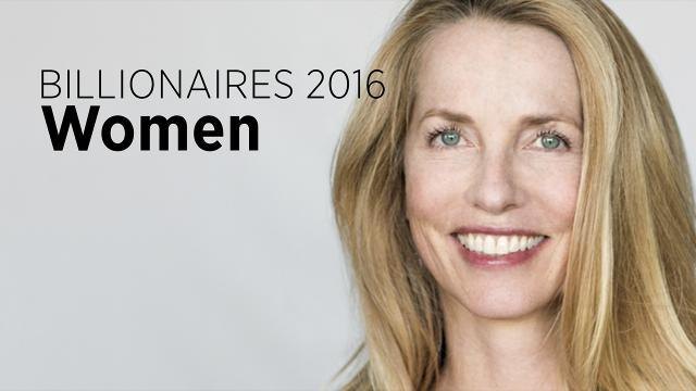 Billionaires 2016: Wealthiest Women In The World