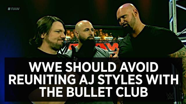 WWE Should Avoid Reuniting AJ Styles With The Bullet Club
