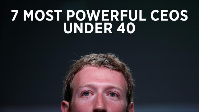 7 Most Powerful Young CEOs in America