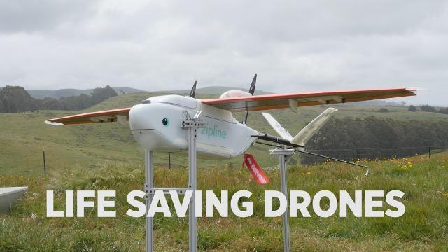 These Drones Are On A Mission To Save Lives in Rwanda