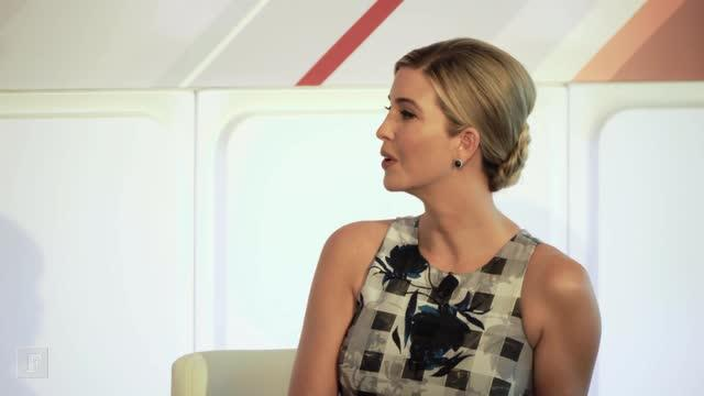 "Ivanka Trump on Her Father: ""What You See Is What You Get"""