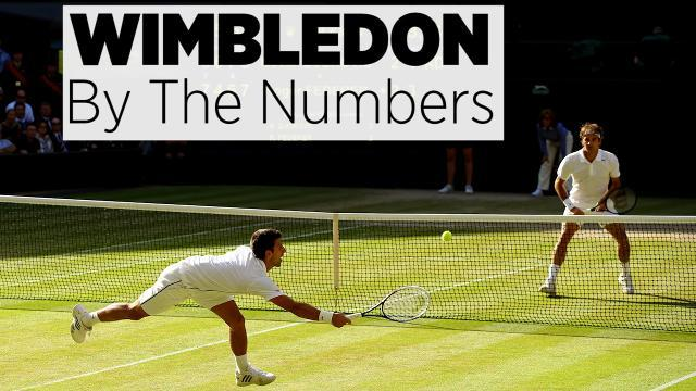Wimbledon By The Numbers