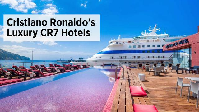 Spend The Night In Cristiano Ronaldo's Hotel Suite