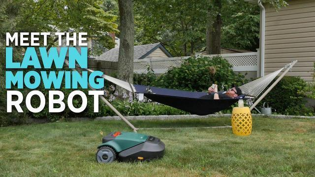 Meet The Lawn Mowing Robot