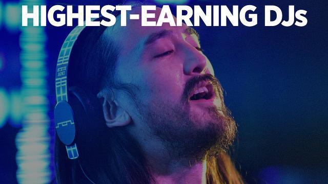 Highest-Earning  DJs 2016
