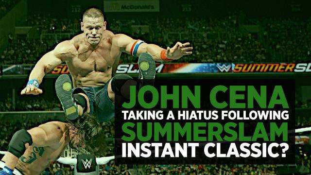 Is John Cena Taking Another Hiatus Following SummerSlam Instant Classic With AJ Styles?