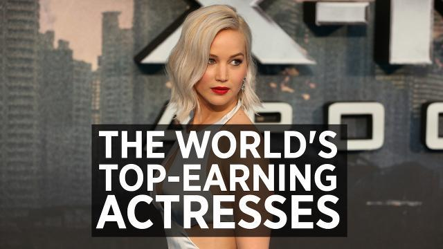 The World's Top-Earning Actresses 2016