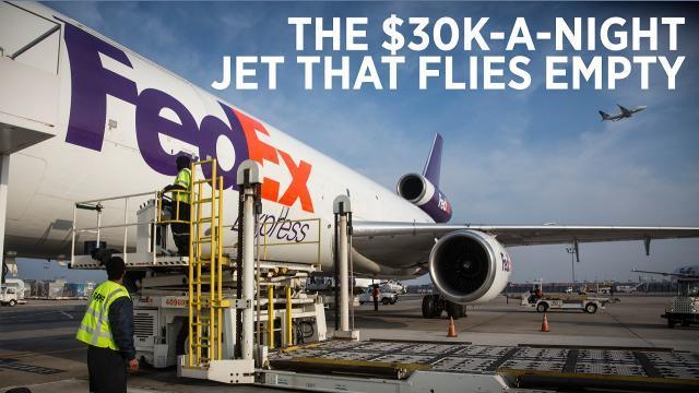 The Empty FedEx Flight That Costs $30K