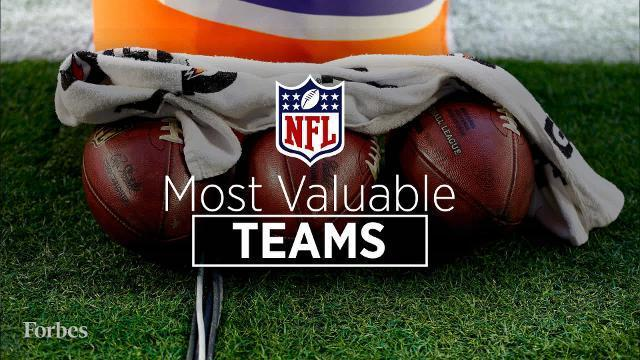 The Most Valuable Teams In The NFL