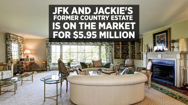 JFK and Jackie's Former Country Estate Is on the Market for $5.95 Million