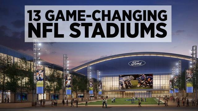 13 Game-Changing NFL Stadiums