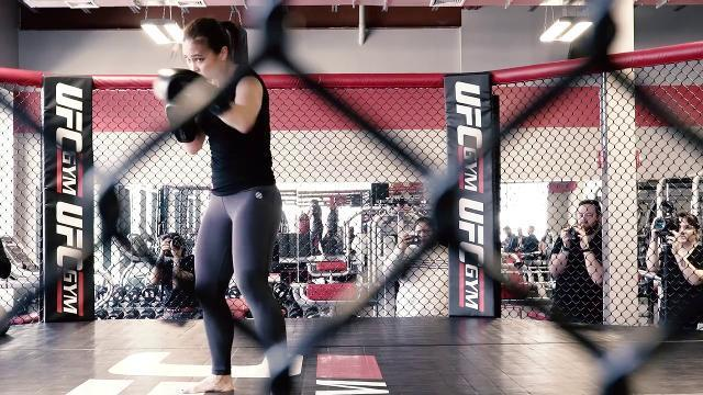 Step Inside The Octagon With UFC's Karate Hottie Michelle Waterson