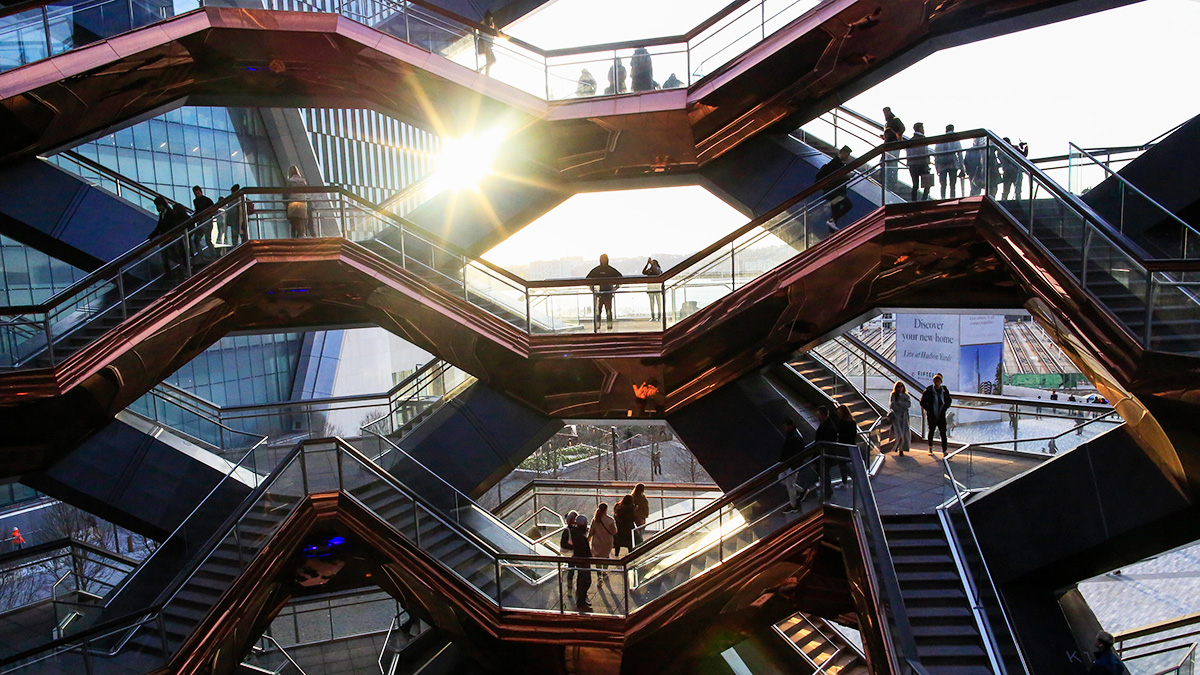 Brookfield is building Manhattan West, a 7-million-square-foot mixed-use development, next to privately held Related Companies' even more massive Hudson Yards. (Kena Betancur/VIEWpress/Getty Images)