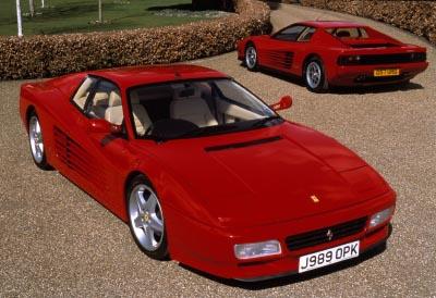 Elton John S Quot Red Devil Quot Ferrari Testarossa