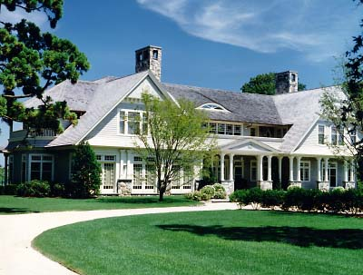 Today 39 s best architects for Hampton shingle style house plans