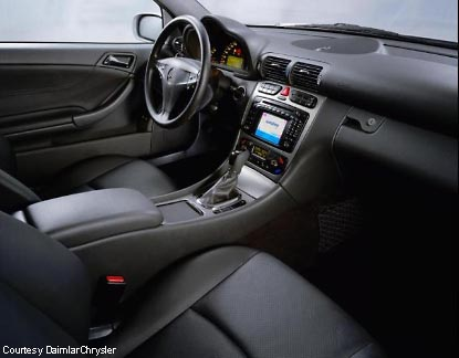 Mercedes Benz C230 Sports Coupe
