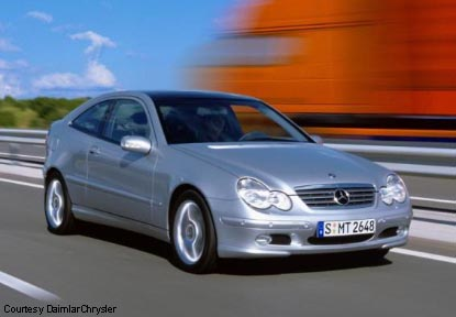 Mercedes benz c230 sports coupe for Mercedes benz hatchback c230