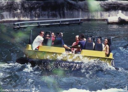 The world 39 s best amusement parks for Busch gardens tampa water rides