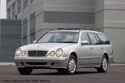2002 Mercedes Benz E320 Wagon
