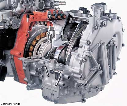 2002 honda civic hybrid transmission
