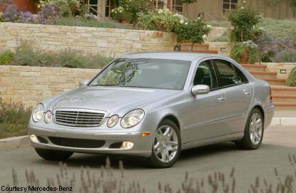 Preview: 2003 Mercedes-Benz E-Class
