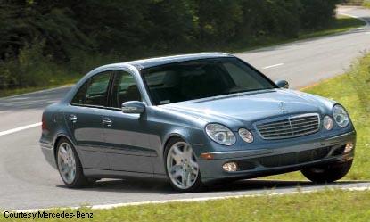Preview: 2003 Mercedes-Benz E-Class