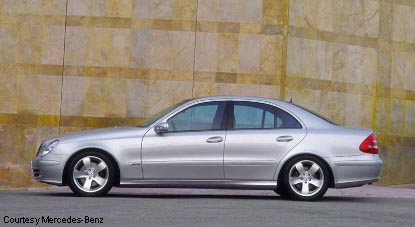 Preview 2003 mercedes benz e class for Mercedes benz e class 2003 price