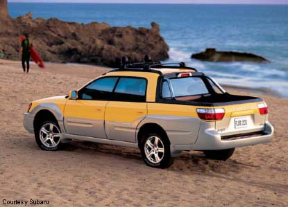 Subaru Outback Hybrid >> 2003 Subaru Baja