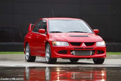Perfect 2003 Mitsubishi Lancer Evolution