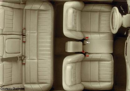 2003 chevrolet impala ls sedan 2003 Nissan Pathfinder Seats