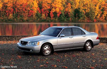 Tire Size Comparison >> 2004 Acura 3.5 RL