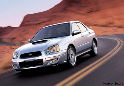 2004 subaru wrx weight