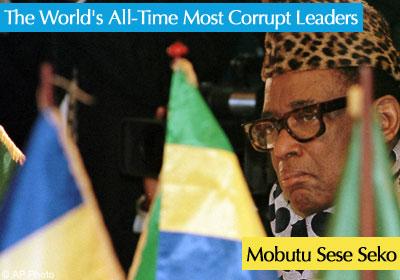 mobutu sese seko corruption