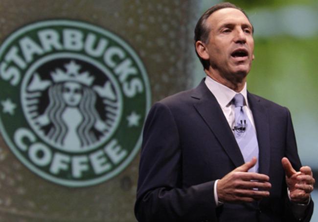 Why Starbucks Howard Schultz Looks For Better Race Relations